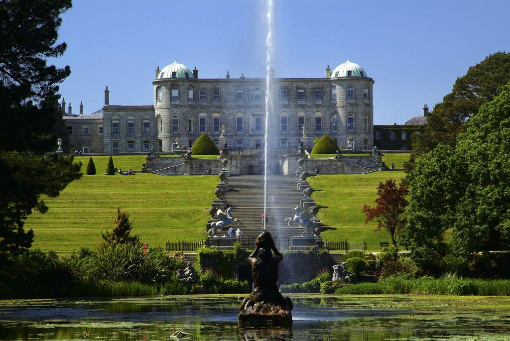 Escursione Giornaliera da Dublino al Parco Nazionale Wicklow & Powerscourt in Italiano